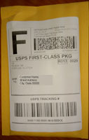 USPS First Class Domestic envelope